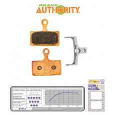 Brake Authority Burly - Shimano XTR (m985) brzdové destičky