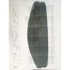 Pinlock 70 na plexi SCORPION EXO-3000/920 tmavě kouřový