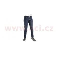 kalhoty Original Approved Jeans Slim fit, OXFORD, dámské (modrá)