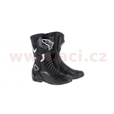 boty STELLA S-MX 6, ALPINESTARS (černé/bílé)