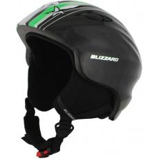 helma BLIZZARD Magnum ski helmet junior, green star shiny