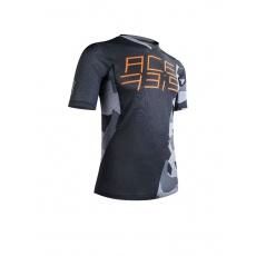 ACERBIS MTB dres COMBAT (krátký rukáv)černá/šedá