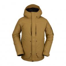 Pánská bunda Volcom Scortch Ins Jacket Burnt Khaki