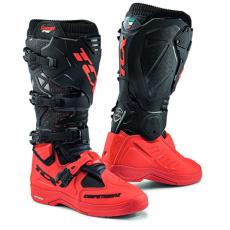 Moto boty TCX COMP EVO 2 MICHELIN® černo/červené