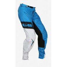 Motokrosové kalhoty ALIAS MX A1 STANDARD neonově modro/bílé 2062-370