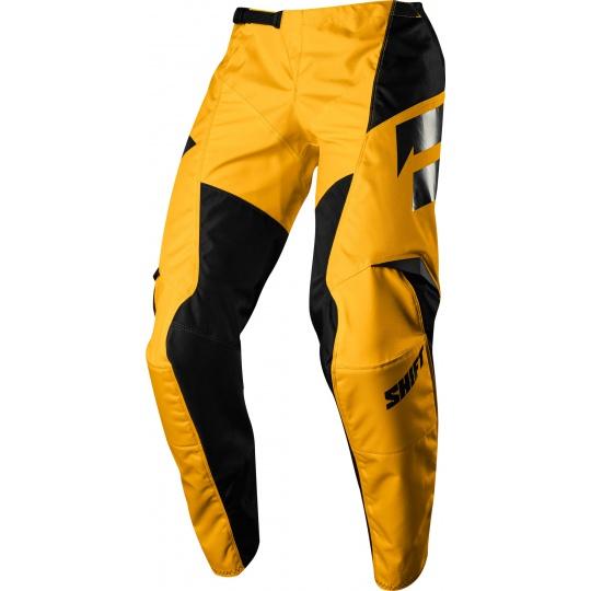 Pánské MX kalhoty Shift Whit3 Ninety Seven Pant Yellow