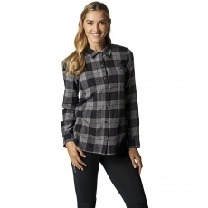 Dámská košile Fox Pines Flannel Heather Graphite