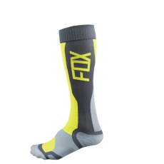 Pánské MX ponožky Fox Racing Mx Tech Sock Grey/Yellow