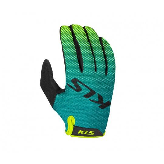 KELLYS Rukavice KLS Plasma green XXL