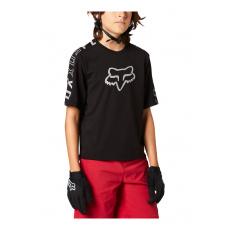 Dětský dres Fox Yth Ranger Dr Ss Jrsy Black