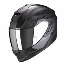 Moto přilba SCORPION EXO-1400 CARBON AIR OBSCURA matná černo/černá lesklá