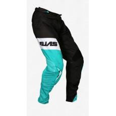 Motokrosové kalhoty ALIAS MX A1 STANDARD černo/zelené 2062-346