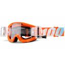 brýle Strata Mud. Jr Orange, 100% - USA dětské (čiré plexi s Roll Off)