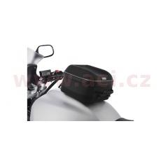 tankbag na motocykl S-Series Q4s QR, OXFORD (černý, s rychloupínacím systémem na víčka nádrže, objem 4 l)