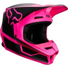 Pánská MX helma Fox V1 Przm Helmet Black/Pink