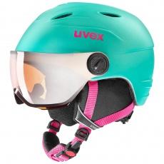 helma UVEX JUNIOR VISOR PRO, mint mat (S566191700*)