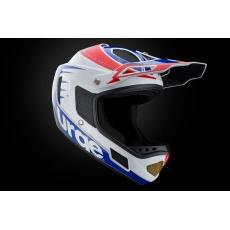 URGE Down-O-Matic RR - White Red Blue helma