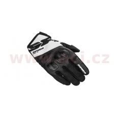 rukavice FLASH R EVO, SPIDI (černé/bílé)