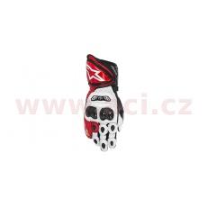 rukavice GP TECH 2021, ALPINESTARS (bílé/červené/černé)