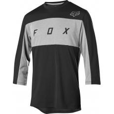 Pánský dres Fox Ranger Dri-Release 3/4 Jersey Black