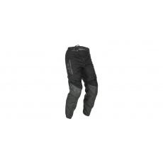 kalhoty F-16 2021, FLY RACING dětské (černá/šedá)