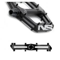 NS Bikes Radiance pedály Black - černé