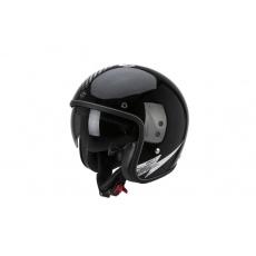 Moto přilba SCORPION BELFAST VOLT černo/bílá