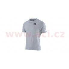 triko Relay Tech Silver, 100% (šedá)