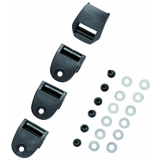 Zásuvka na pásek TCX plastový 2PATH sada 4ks