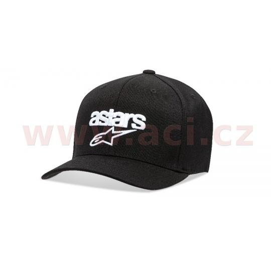 kšiltovka HERITAGE BLAZE HAT, ALPINESTARS (černá/bílá)