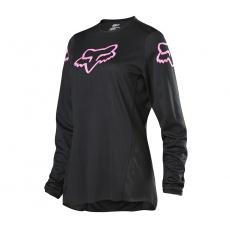 Dámský MX dres Fox 180 Prix Jersey Black/Pink