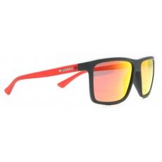 sluneční brýle BLIZZARD sun glasses POL801-126 rubber black, 65-17-140