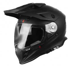 Moto přilba JUST1 J34 solid černá matná