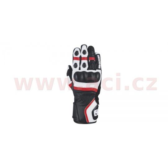rukavice RP-5 2.0, OXFORD (bílé/černé/červené)