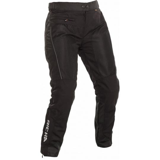 Dámské moto kalhoty RICHA COOL SUMMER černé zkrácené