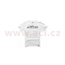 triko BLAZE krátký rukáv, ALPINESTARS (bílé/černé)
