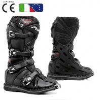 Dětské moto boty FORMA COUGAR černé