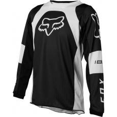 Dětský MX dres Fox Yth 180 Lux Jersey Black