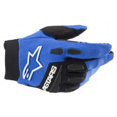 rukavice FULL BORE 2022, ALPINESTARS, dětské (modrá/černá)