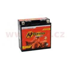 baterie gelová 12V, GTZ14B-4, 12Ah, 200A, BANNER Bike Bull GEL 150x69x145