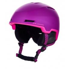 helma BLIZZARD Viva Viper ski helmet, violet matt/pink matt