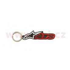klíčenka BLAZE KEY FOB, ALPINESTARS (černá/červená)