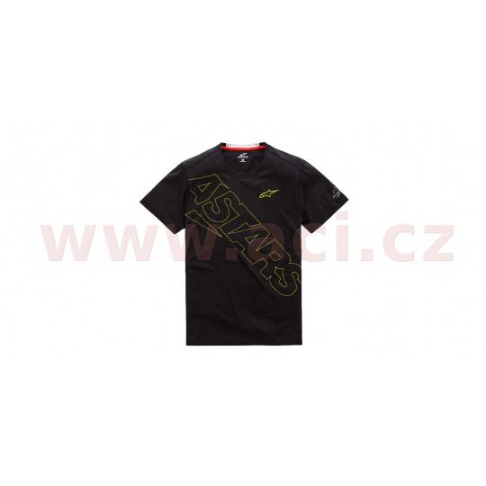 triko PAMPALONA RIDE TEE krátký rukáv, ALPINESTARS (černá)