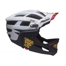 URGE Gringo convertible - De La Sierra White Black XX helma