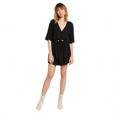 Dámské šaty Volcom Ven Om Dress Black