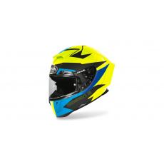 přilba GP 550S VECTOR, AIROH (černá/modrá/tyrkysová-matná)