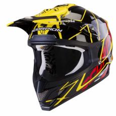 Moto přilba SCORPION VX-15 AIR SPRINT černo/žluto/červená