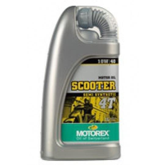 motorový olej scooter 4T 10W40 1 litr