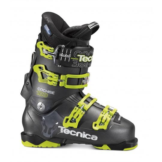 lyžařské boty TECNICA Cochise 100, black - MP 285 = UK 9 1/2 = EU 44