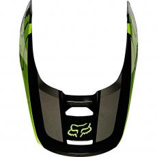 Náhradní kšilt Fox V1 Helmet Visor - Revn Fluo Yellow
